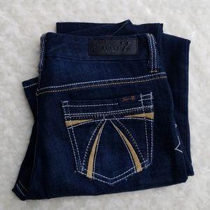 Seven 7 Jeans embellished and flared